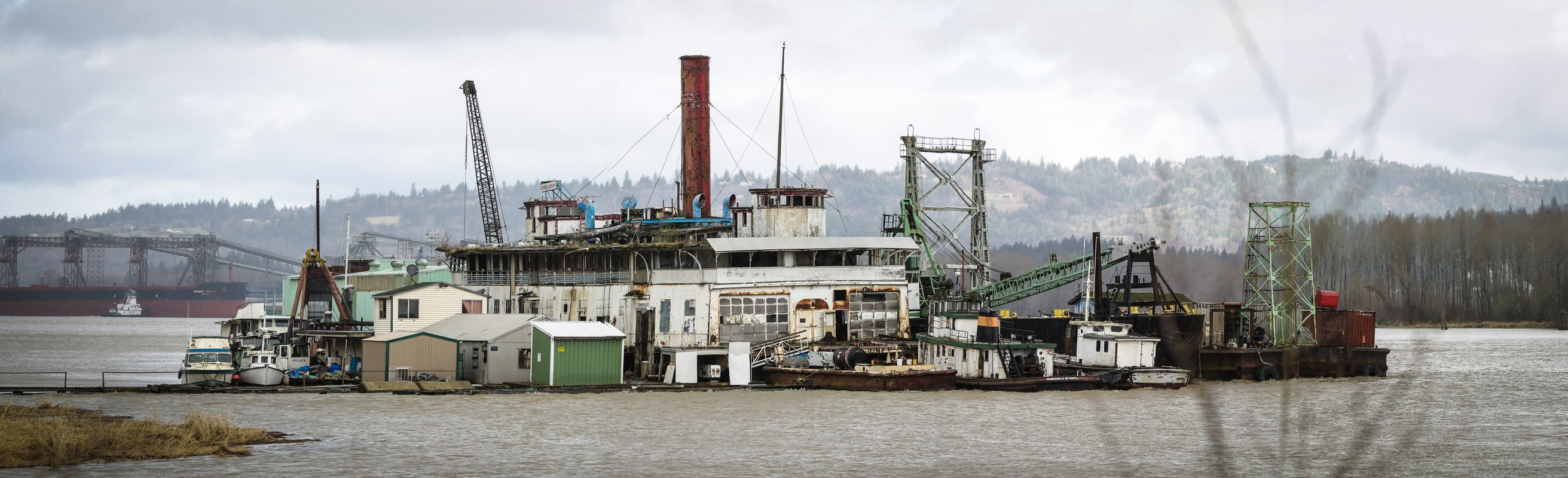 140216The SS Shasta River Queen©2014KennethBenjaminReed The SS Shasta (River Queen)