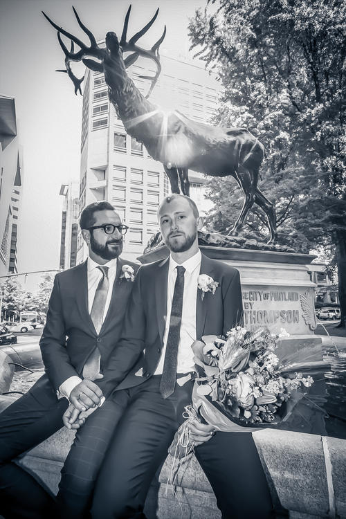 Wedding photography - Peter and David